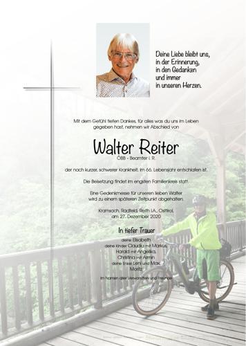 Parte von Walter Reiter