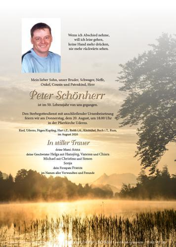 Parte von Hans Peter Schönherr