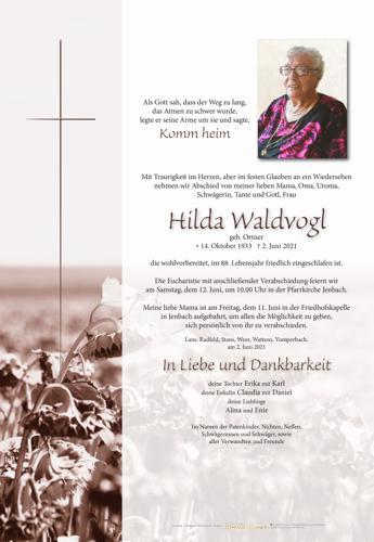 Parte von Hilda Waldvogl