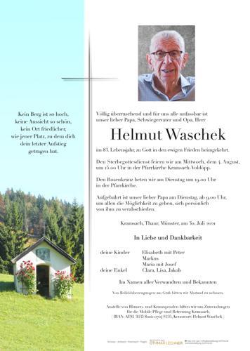 Parte von Helmut Waschek