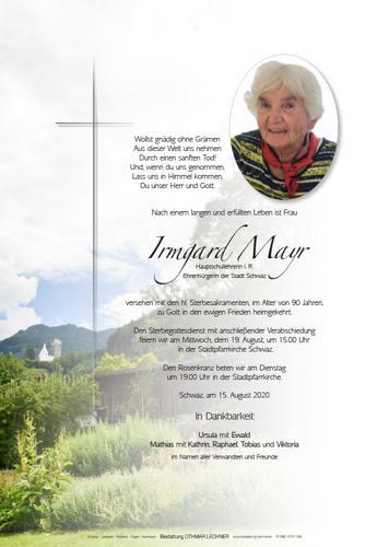 Parte von Irmgard Mayr
