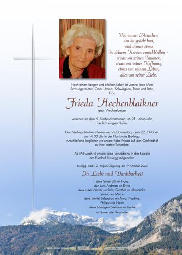 Parte von Elfrieda Hechenblaikner