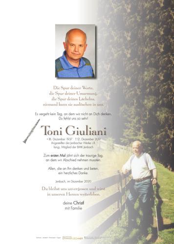 Parte von Toni Giuliani