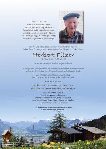 Parte von Herbert Filzer