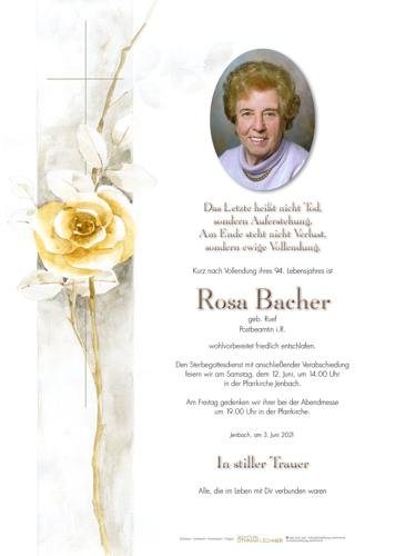 Parte von Rosa Bacher