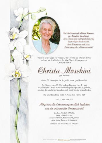 Parte von Christa Moschini