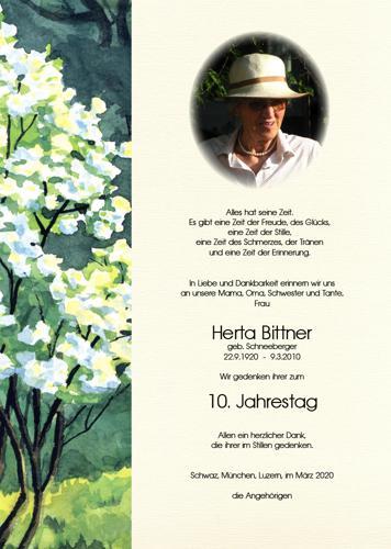 Parte von Herta Bittner