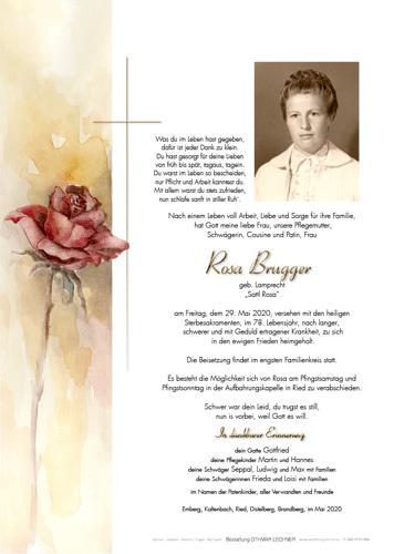 Parte von Rosa Brugger