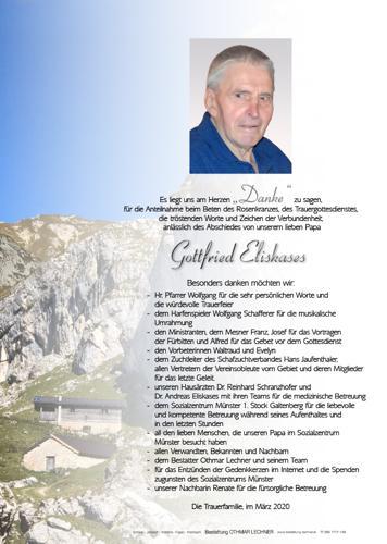 Parte von Gottfried Eliskases