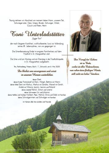 Parte von Anton Unterladstätter