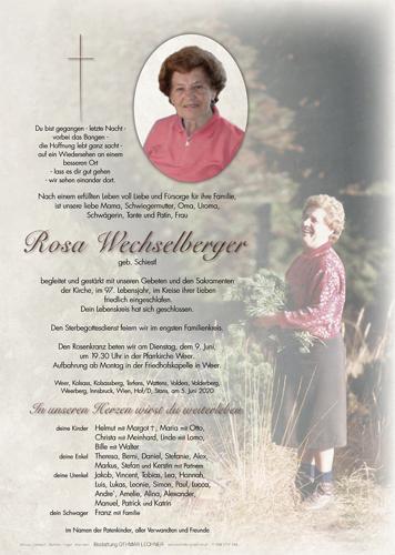 Parte von Rosina Wechselberger