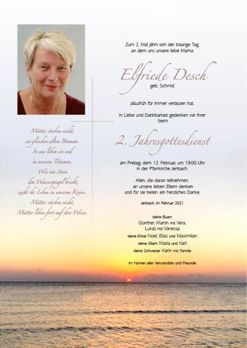 Parte von Elfriede Desch