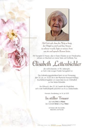 Parte von Elisabeth Lettenbichler