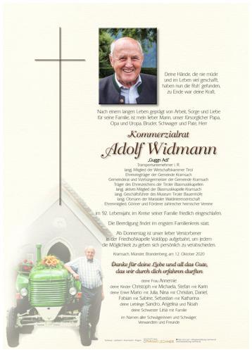 Parte von Adolf Widmann