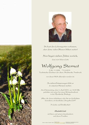 Parte von Wolfgang Sternat