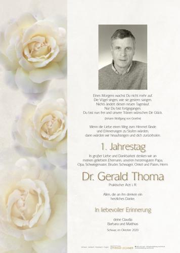 Parte von Thoma Gerald Dr.