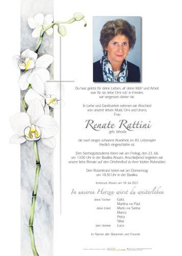 Parte von Renate Rattini