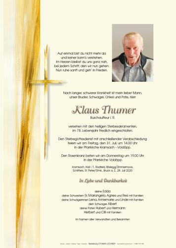Parte von Klaus Thumer