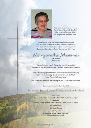 Parte von Margarethe Messner