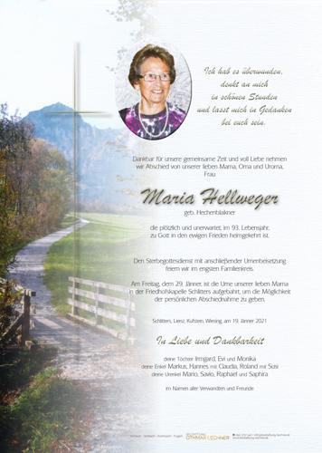 Parte von Maria Hellweger