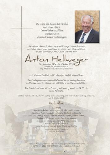 Parte von Anton Hellweger