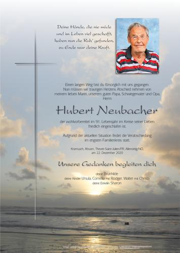 Parte von Hubert Neubacher