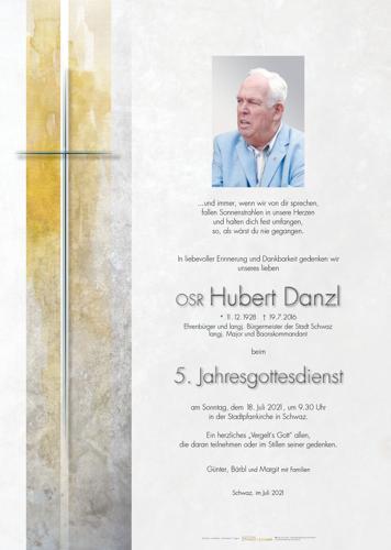 Parte von Danzl Hubert OSR