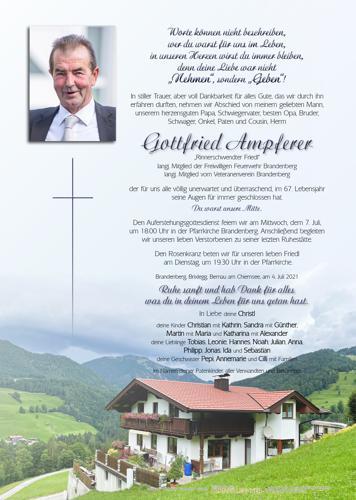 Parte von Gottfried Ampferer