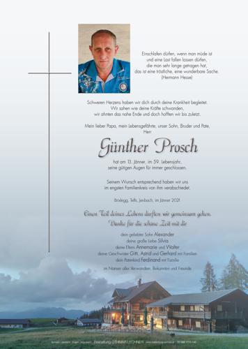 Parte von Günther Prosch