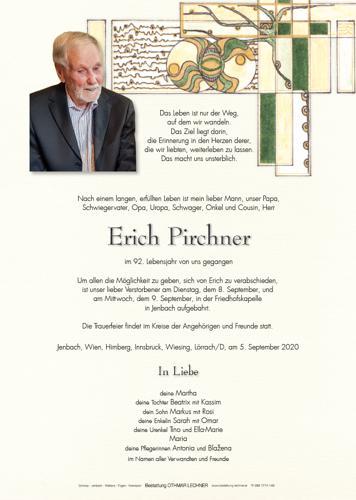 Parte von Erich Pirchner