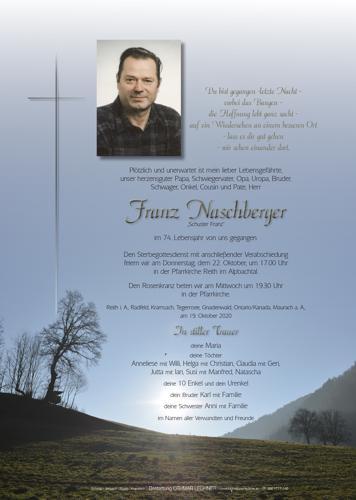 Parte von Franz Naschberger