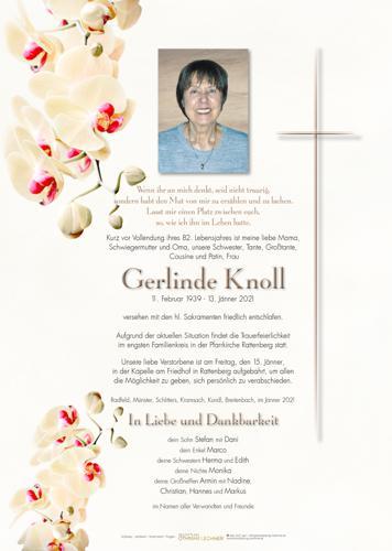 Parte von Gerlinde Knoll