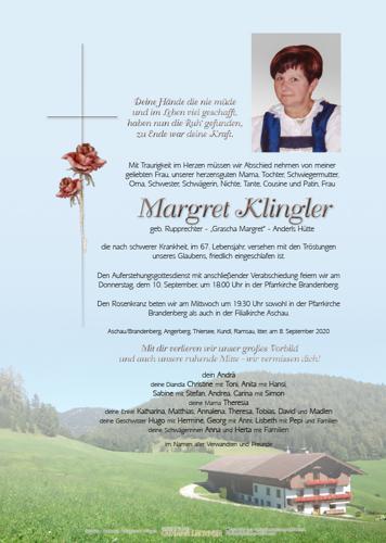 Parte von Margret Klingler