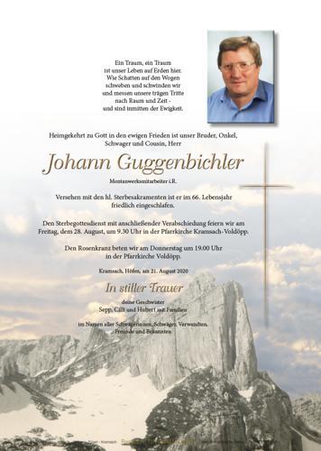 Parte von Johann Guggenbichler