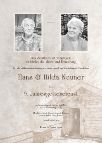 Parte von Hilda Neuner