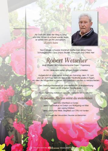 Parte von Robert Wetscher